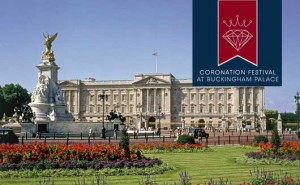 The Coronation Festival - Held in the gardens of Buckingham Palace